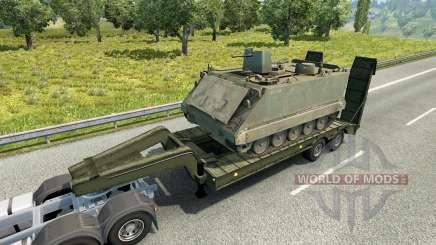 Military cargo pack v2.1 for Euro Truck Simulator 2