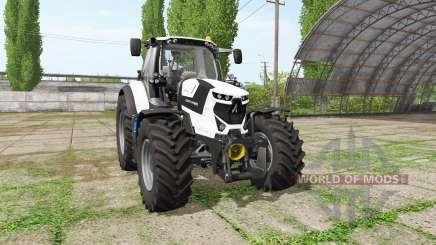 Deutz-Fahr Agrotron 6175 TTV white edition for Farming Simulator 2017