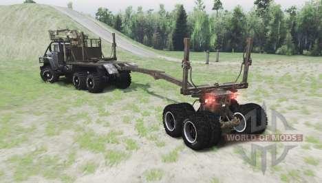 Ural 43260 for Spin Tires