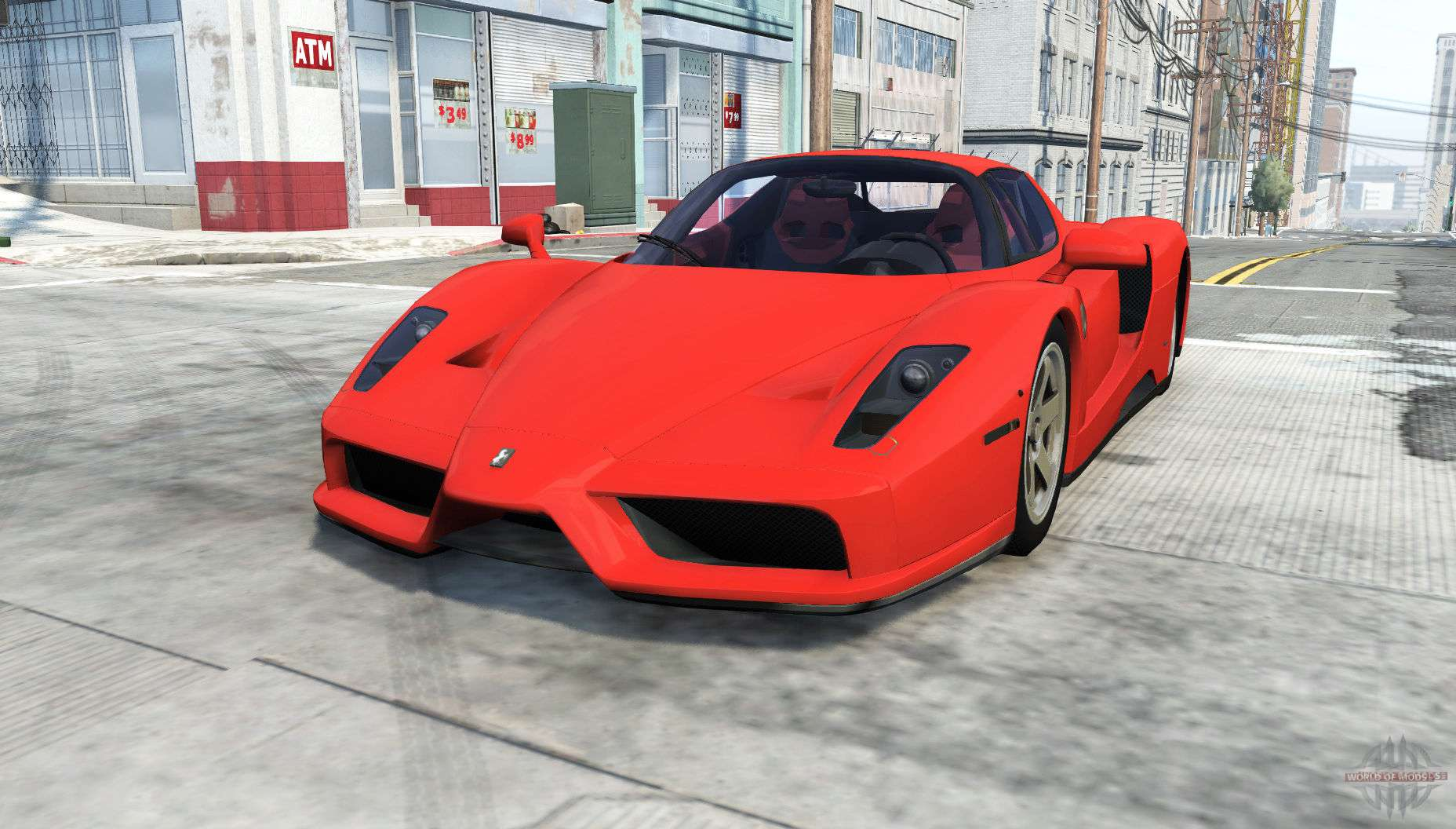 ferrari enzo for beamng drive. Black Bedroom Furniture Sets. Home Design Ideas