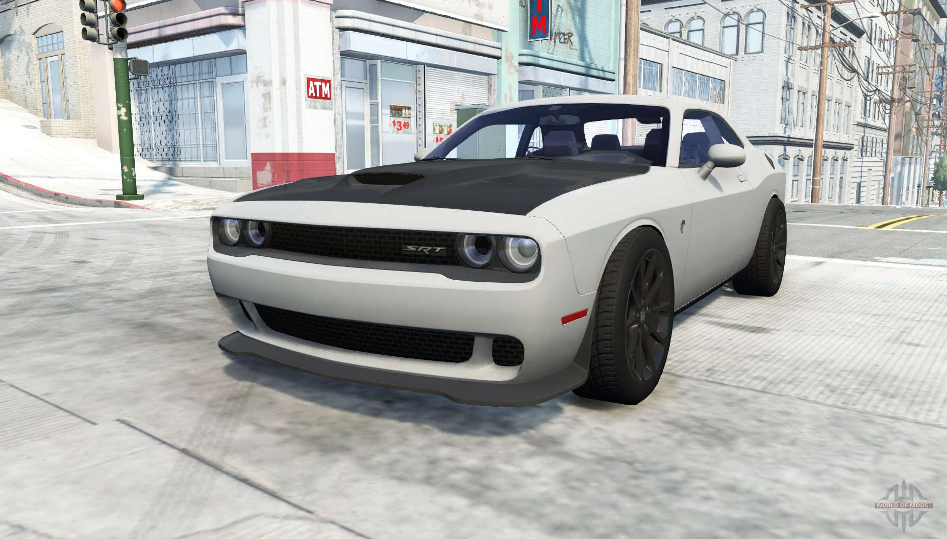 dodge challenger srt hellcat lc for beamng drive. Black Bedroom Furniture Sets. Home Design Ideas