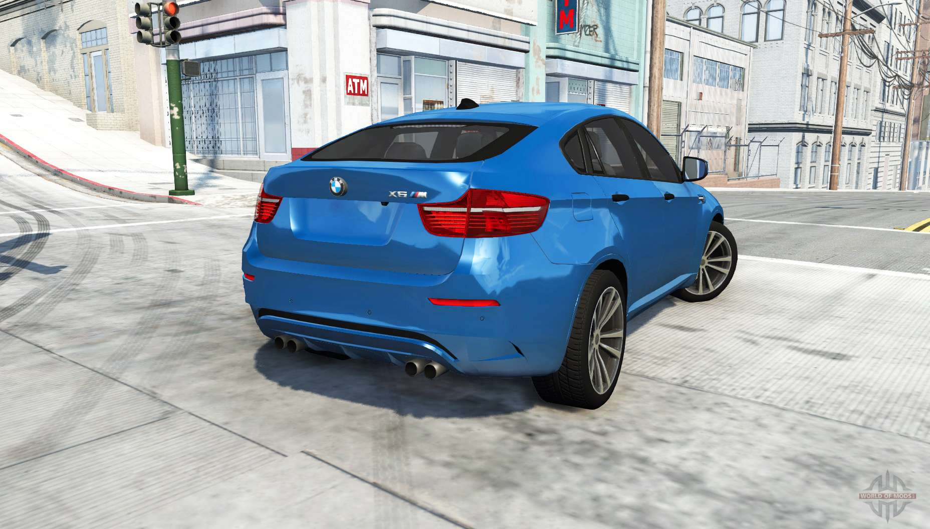 Bmw X6 M Е71 For Beamng Drive
