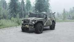 GAZ 2330 Tiger for MudRunner