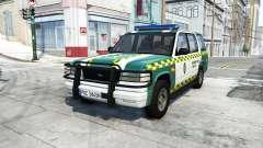 Gavril Roamer spanish police v3.6.1 for BeamNG Drive
