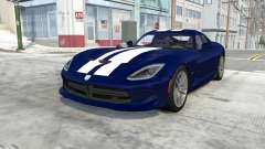 Dodge SRT Viper GTS 2013 for BeamNG Drive