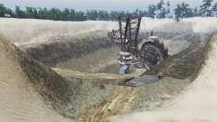 Sand quarry v1.2 for Spin Tires