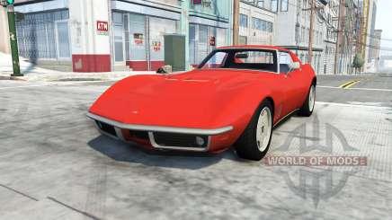 Chevrolet Corvette Stingray 1969 for BeamNG Drive