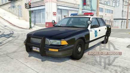 Gavril Grand Marshall san francisco police v1.1 for BeamNG Drive