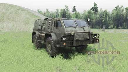 GAZ 3937 Vodnik v2.0 for Spin Tires