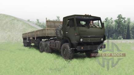 KamAZ 4410 for Spin Tires