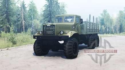 KrAZ 255 for MudRunner