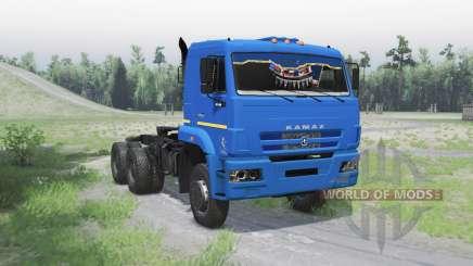 KamAZ 6522 v1.1 for Spin Tires