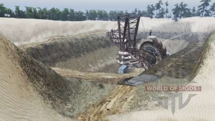 Sand quarry v1.2 for Spin Tires