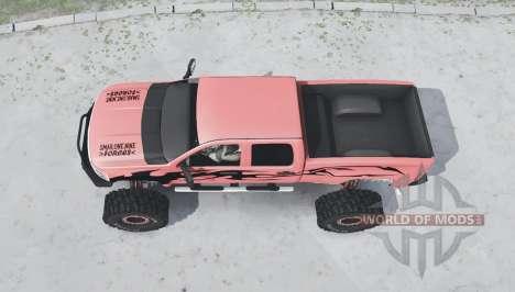 Chevrolet Silverado 2500 HD Crew Cab Duramax for Spintires MudRunner