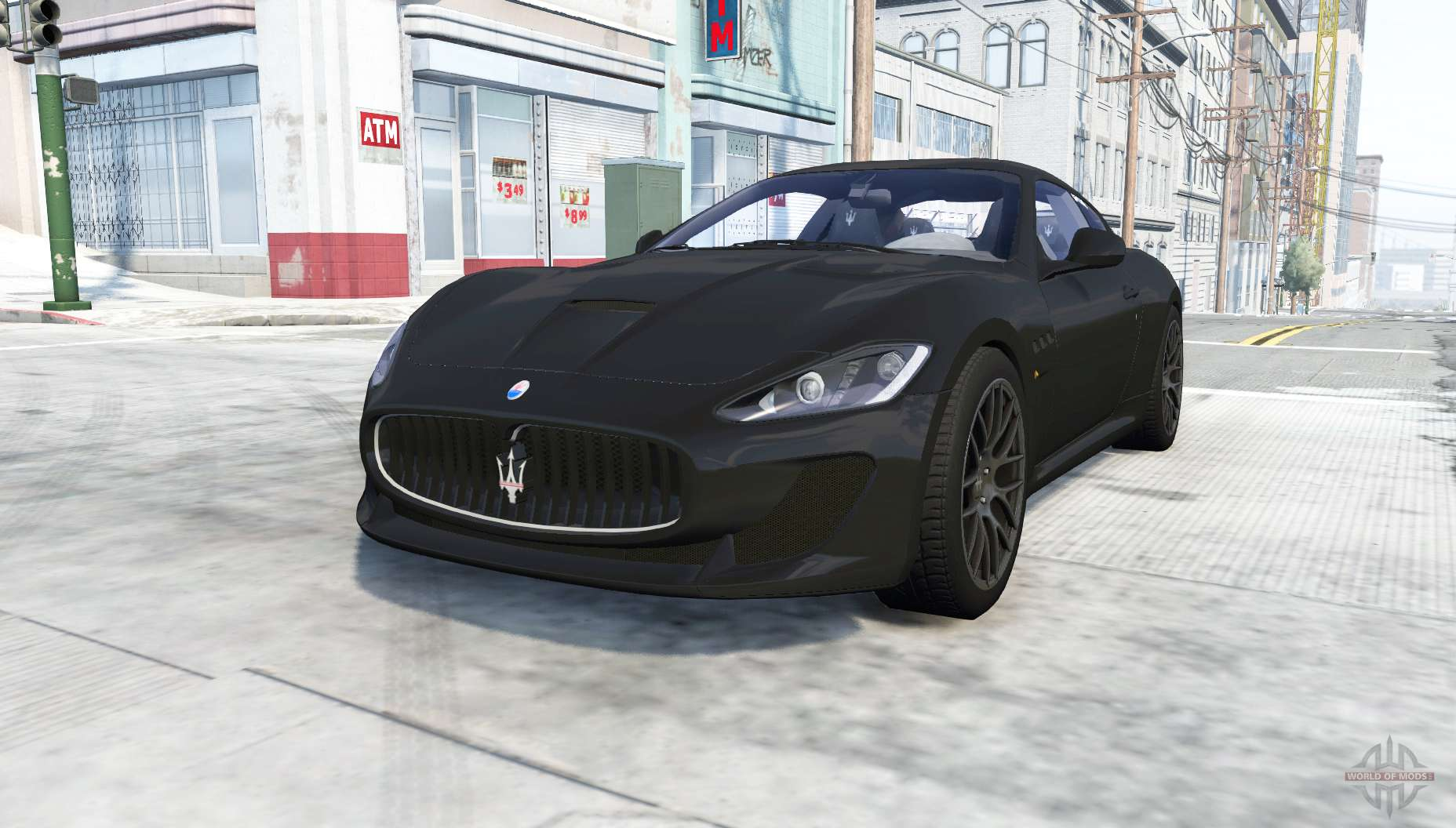 Maserati Granturismo Mc >> Maserati GranTurismo MC Stradale for BeamNG Drive
