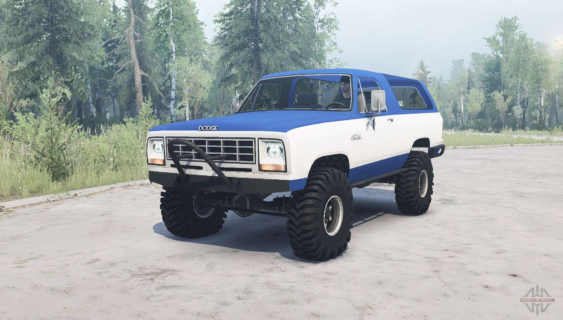 Dodge Ramcharger 1982 For Mudrunner