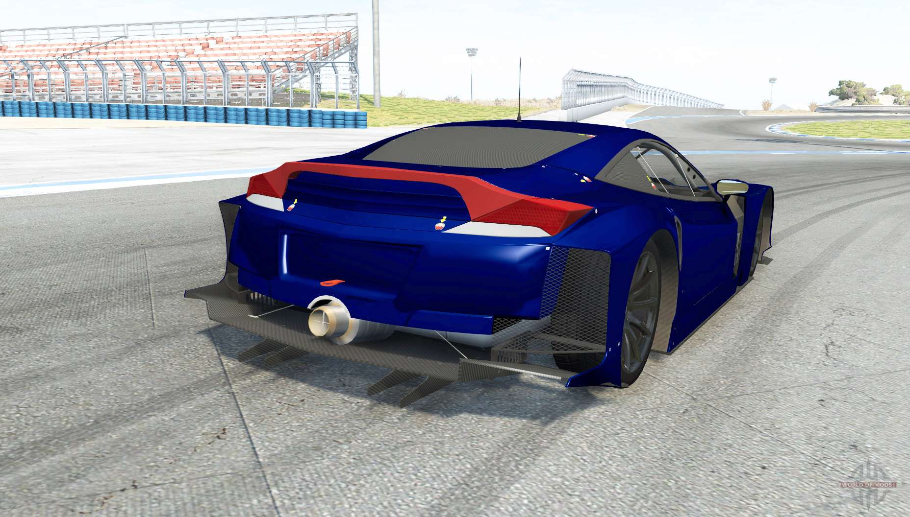 Honda HSV 010 GT500 Super GT For BeamNG Drive