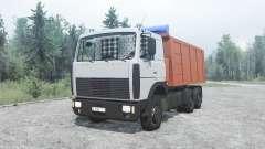 MAZ 5516 for MudRunner