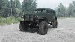 Dodge WC-53 Carryall (T214) 1942 for MudRunner