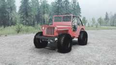 Willys MB off-road
