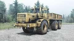 Kirovets K 701M 6x6 for MudRunner