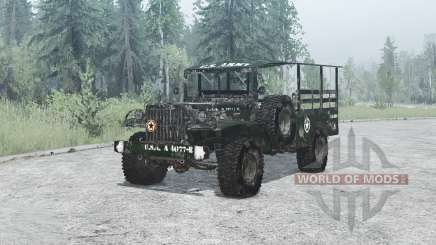 Dodge WC-51 (T214) 1942 for MudRunner