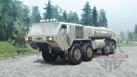 Oshkosh HEMTT (M977) for MudRunner