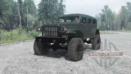 Dodge WC-53 Carryall (T214) 1942 for MudRunner
