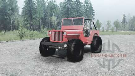 Willys MB off-road for MudRunner