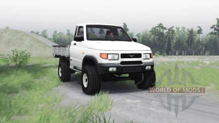 UAZ 23608 for Spin Tires