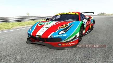 Ferrari 488 GTE for BeamNG Drive