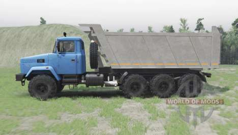 KrAZ 7140С6 for Spin Tires
