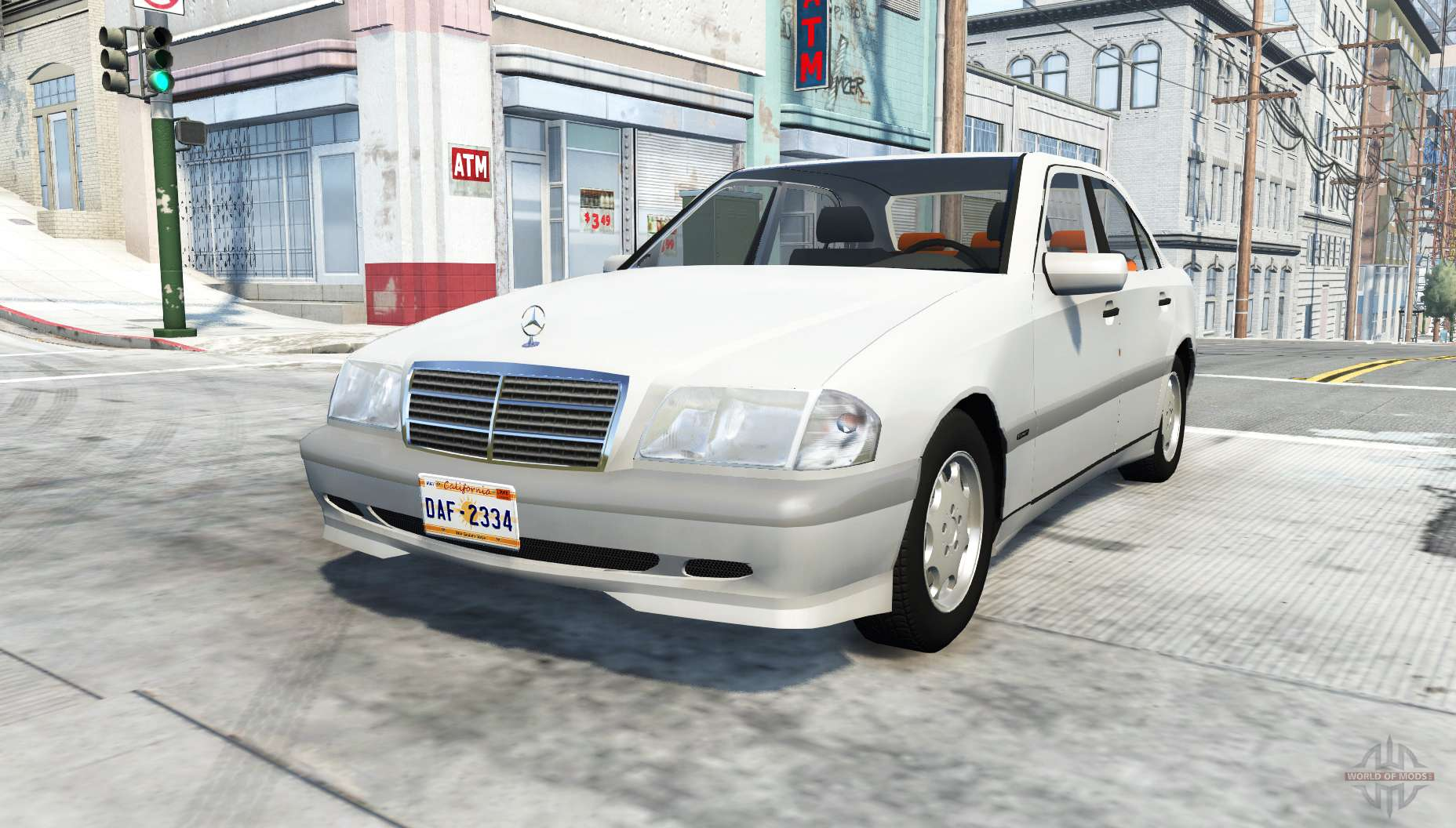 mercedes benz c 200 w202 for beamng drive. Black Bedroom Furniture Sets. Home Design Ideas
