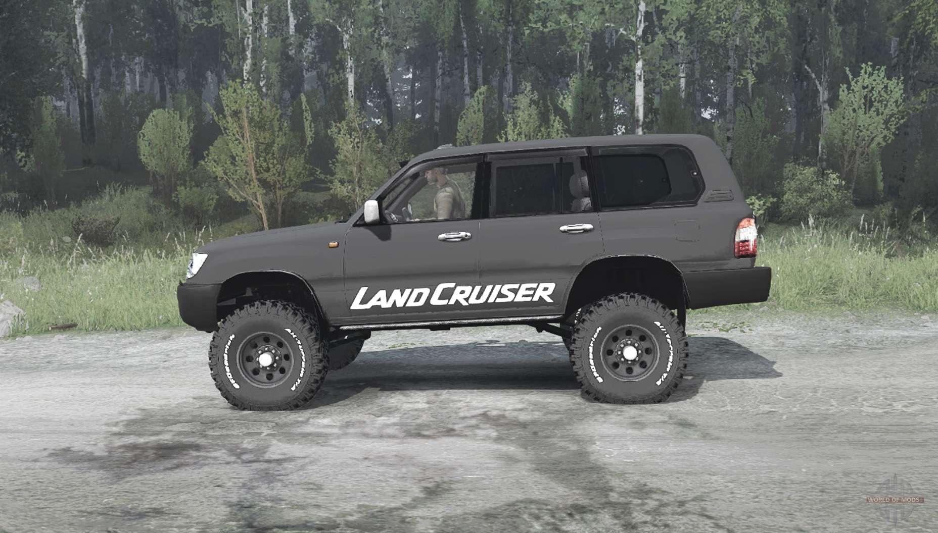 Toyota Land Cruiser 105 GX for MudRunner