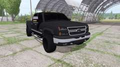 Chevrolet Silverado 2500 HD Crew Cab for Farming Simulator 2017