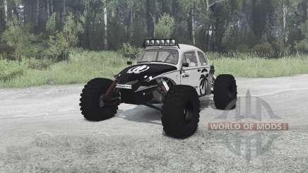 Volkswagen Beetle PreRunner for MudRunner