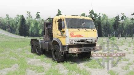 KamAZ-53504 v1.2 for Spin Tires