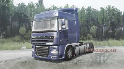DAF XF105.460 for MudRunner
