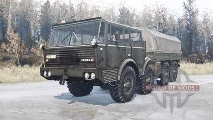 Tatra T813 TP 8x8 for MudRunner