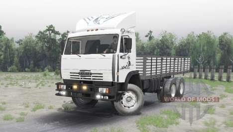 KAMAZ 65111 v2.3 for Spin Tires