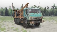 KamAZ-53504 v1.3 for Spin Tires