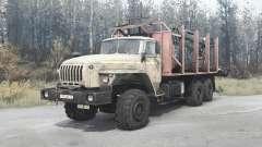 Ural 4320-1912-40 for MudRunner