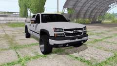 Chevrolet Silverado 2500 HD Crew Cab v3.0 for Farming Simulator 2017