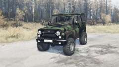 UAZ hunter (315195) expedition