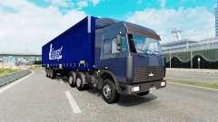 Russian traffic pack v2.3 for Euro Truck Simulator 2