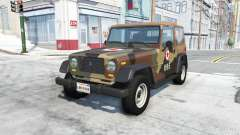 Ibishu Hopper north korean army for BeamNG Drive