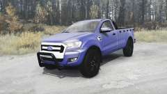 Ford Ranger Single Cab 2016 v2.0 for MudRunner