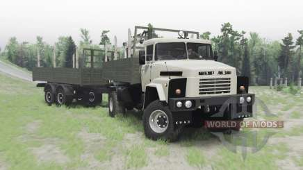 KrAZ 260 4x4 for Spin Tires