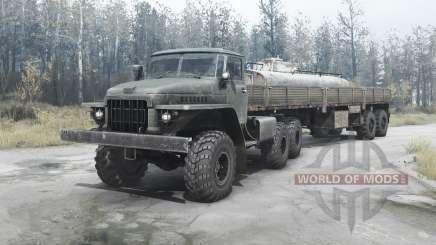 Ural 377Н for MudRunner
