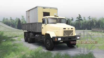 KrAZ 65053 for Spin Tires